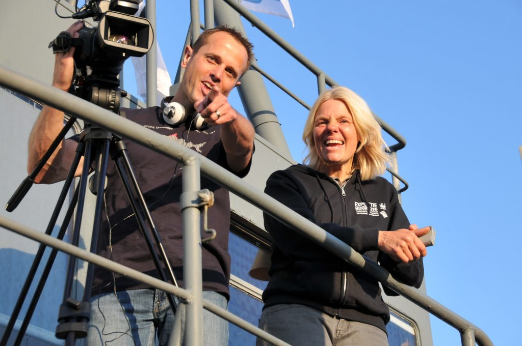 Peter van Rodijnen en Klaudie Bartelink